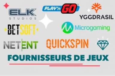 Découvrez tout sur les fournisseurs de jeux en ligne