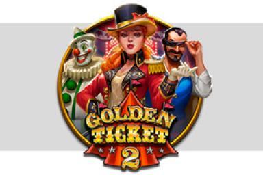 Empochez des tickets d'or avec Golden Ticket 2™ de Play'n GO