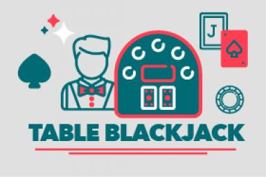 Table blackjack : présentation de la table et des éléments qui l'entourent