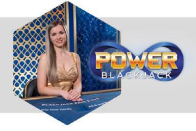 Nouveauté : Power Blackjack™, l'infinité en live