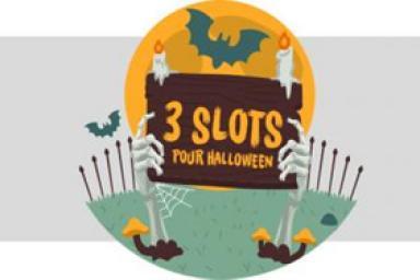 Les 3 slots qui vous feront frissonner pour Halloween