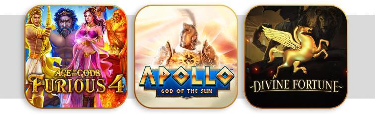 Top 3 des meilleures slots : Mythologie Grecque