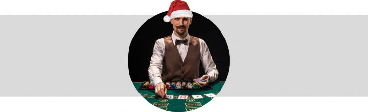 blackjack live ambiance Noel