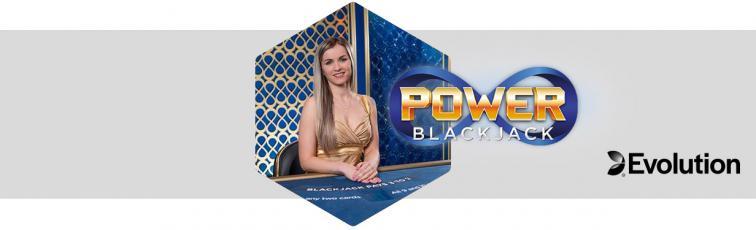 Power Blackjack evolution gaming