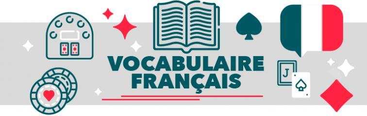 Vocabulaire blackjack francais