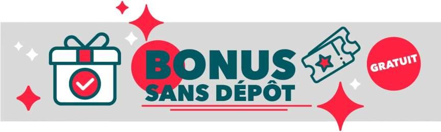 bonus sans depot casino