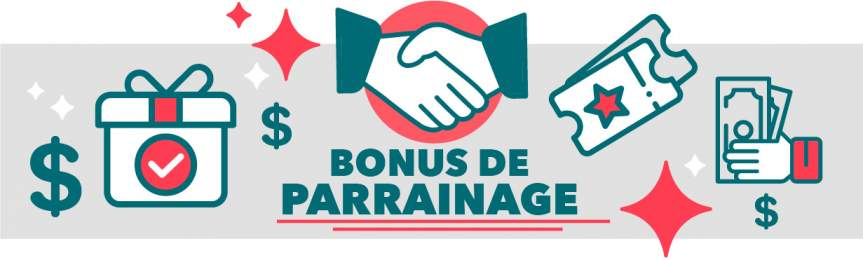 bonus parrainage casino en ligne