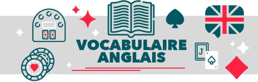 Vocabulaire blackjack anglais